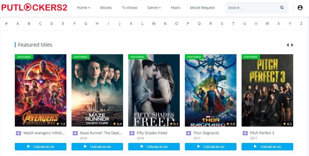 Putlockers2 - Watch Free Movies And TV Series Online | Putlockers